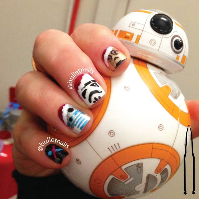 40gnai - star wars christmas | @bulletnails