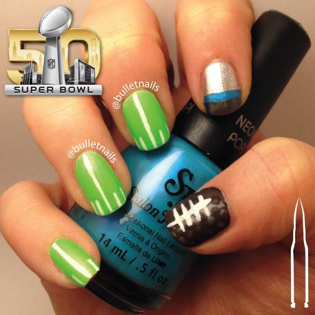 superbowl 50 | @bulletnails