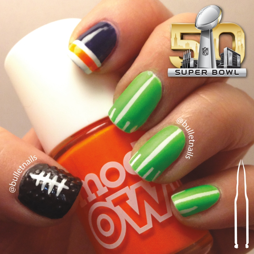 superbowl 50 | @bulletnails