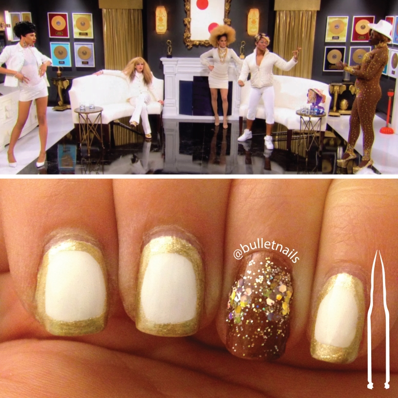 rupaul's drag race S08E03 | ruco's empire inspired mani