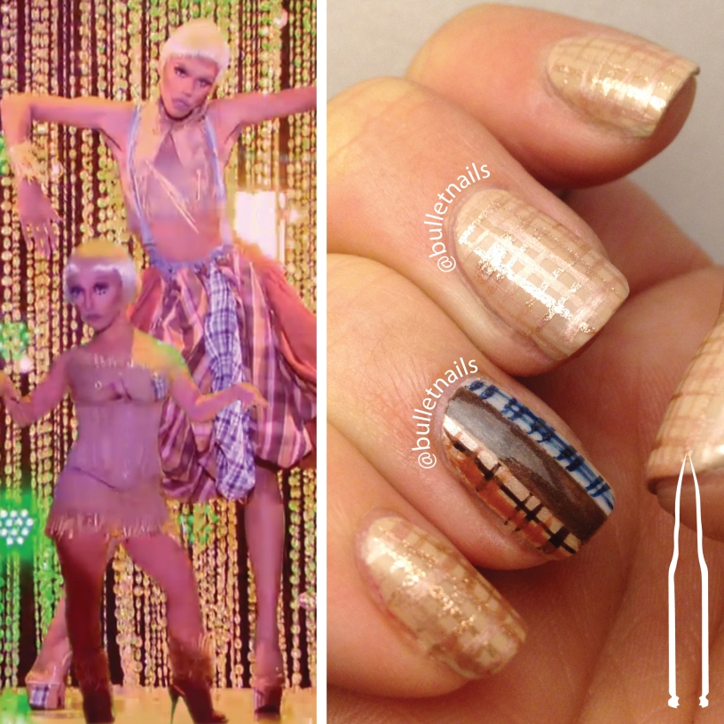 rupaul's drag race S08E06 | naomi smalls wizards of drag runway inspired mani