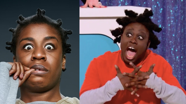 rupaul's drag race S08E05 | bob the drag queen as uzo aduba (aka crazy eyes on orange is the new black)