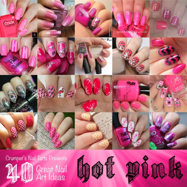 40gnai - hot pink | @bulletnails