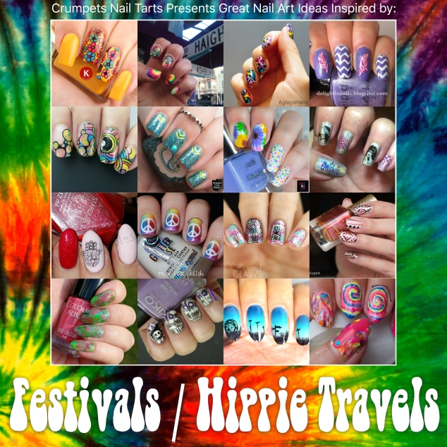 40gnai - hippie travels | @bulletnails