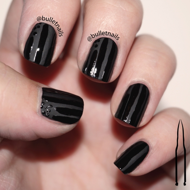 26gnai - black base | @bulletnails