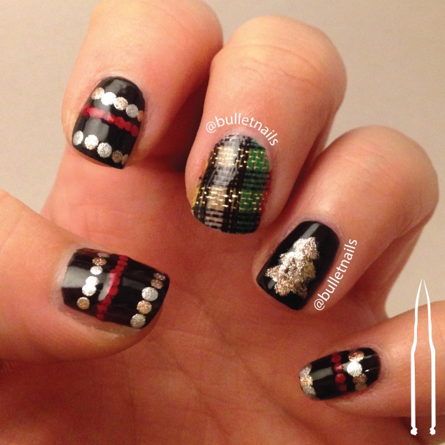 ncu - ugly sweater | @bulletnails