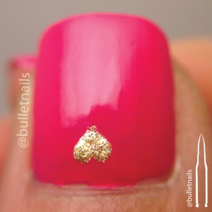 26gnai - red & pink | @bulletnails