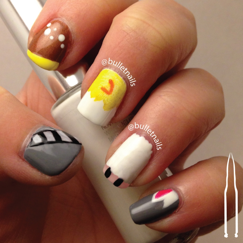 26gnai - spring animals | @bulletnails