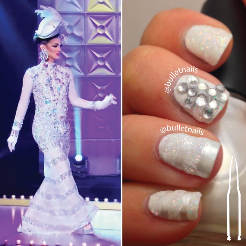 "rupaul's drag race S09E02 | cynthia lee fontaine ""white party"" mani"