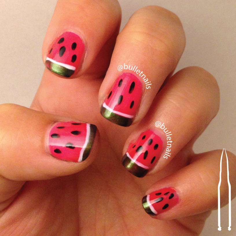 ncu - fruit | @bulletnails