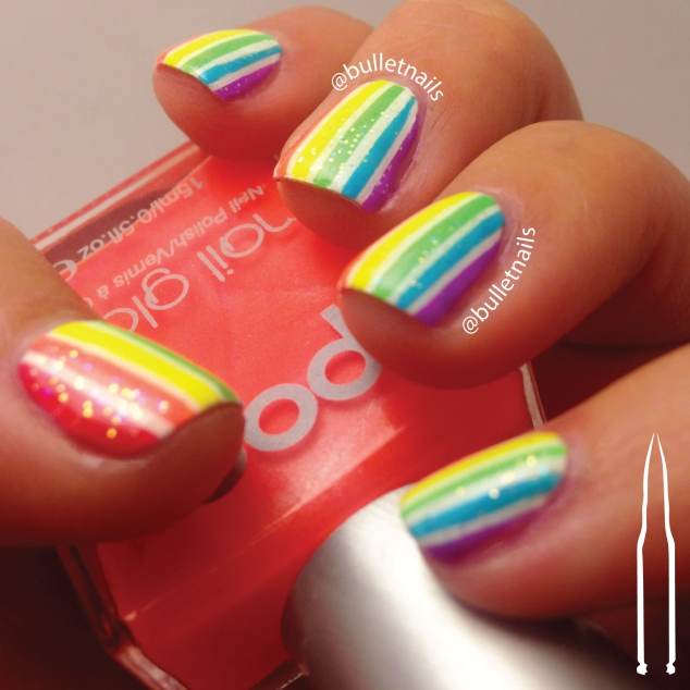 ncu - neon | @bulletnails