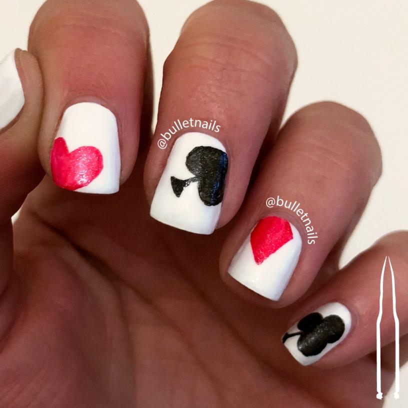 ncu - anti-valentine hearts | @bulletnails