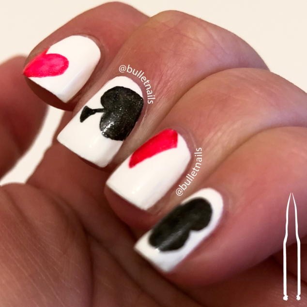 ncu - anti-valentine hearts | @bulletnails